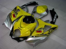 Suzuki GSX-R 1000 2007-2008 K7 Injection ABS Fairing - Others - Yellow/Black/Silver