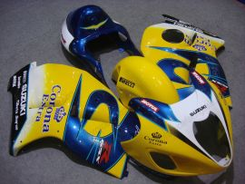 Suzuki GSX-R 1300 Hayabusa 1996-2007 Injection ABS Fairing - Corona - Yellow/Blue