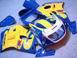 Suzuki GSX-R 600/750 1997-1999 ABS Fairing - Others - Blue/Yellow