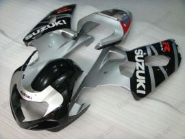 Suzuki GSX-R 600/750 2001-2003 K1 K2 Injection ABS Fairing - Others - Black/Silver