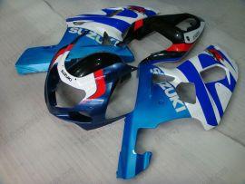 Suzuki GSX-R 600/750 2001-2003 K1 K2 Injection ABS Fairing - Others - Blue/White/Black