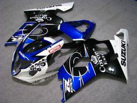 Suzuki GSX-R 600/750 2004-2005 K4 Injection ABS Fairing - Corona - Black/Blue/White