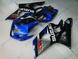 Suzuki GSX-R 600/750 2004-2005 K4 Injection ABS Fairing - Others - gray/black body with blue headlight