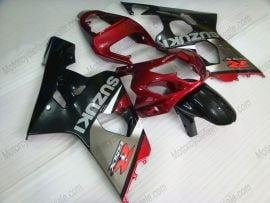 Suzuki GSX-R 600/750 2004-2005 K4 Injection ABS Fairing - Others - gray/black body with red headlight