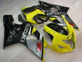 Suzuki GSX-R 600/750 2004-2005 K4 Injection ABS Fairing - Others - gray/black body with Yellow headlight