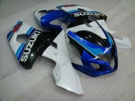 Suzuki GSX-R 600/750 2004-2005 K4 Injection ABS Fairing - Others - white/black body with blue headlight