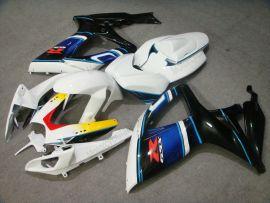 Suzuki GSX-R 600/750 2006-2007 K6 Injection ABS Fairing - Others - Black/White/Blue