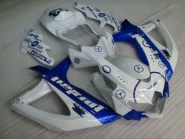 Suzuki GSX-R 600/750 2008-2010 K8 Injection ABS Fairing - Jordan - White/Blue