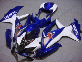 Suzuki GSX-R 600/750 2008-2010 K8 Injection ABS Fairing - Others - Blue/White