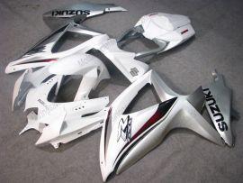 Suzuki GSX-R 600/750 2008-2010 K8 Injection ABS Fairing - Others - White/Silver