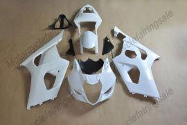 Suzuki GSX-R 1000 2003-2004 K3 Injection ABS Unpainted Fairing - White