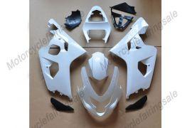 Suzuki GSX-R 600/750 2004-2005 K4 Injection ABS Unpainted Fairing - White
