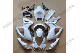 Suzuki GSX-R 600/750 2006-2007 K6 Injection ABS Unpainted Fairing - White