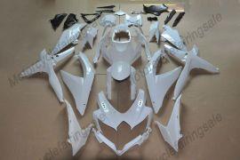 Suzuki GSX-R 600/750 2008-2010 K8 Injection ABS Unpainted Fairing - White