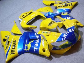 Yamaha YZF-R1 1998-1999 Injection ABS Fairing - Camel - Yellow/Blue