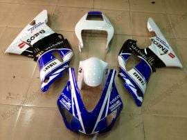 Yamaha YZF-R1 1998-1999 Injection ABS Fairing - Monster - Blue/White