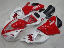 Yamaha YZF-R1 1998-1999 Injection ABS Fairing - Others - White/Red