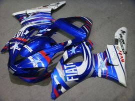 Yamaha YZF-R1 2000-2001 Injection ABS Fairing - FIAT - Blue/white
