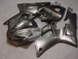 Yamaha YZF-R1 2000-2001 Injection ABS Fairing - Factory Style - All Silver