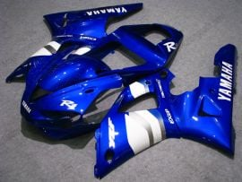 Yamaha YZF-R1 2000-2001 Injection ABS Fairing - Others - Blue/White
