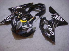 Yamaha YZF-R1 2000-2001 Injection ABS Race Fairing - GO!!!!! - Black
