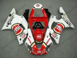 Yamaha YZF-R1 2000-2001 Injection ABS Fairing - Lucky Strike - Red/White
