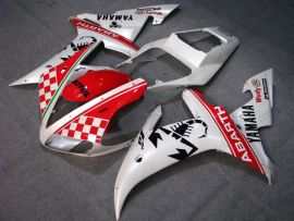 Yamaha YZF-R1 2002-2003 Injection ABS Fairing - ABARTH - White/Red