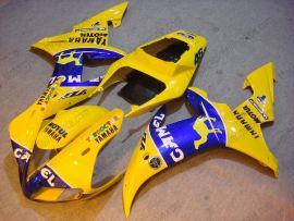 Yamaha YZF-R1 2002-2003 Injection ABS Fairing - Camel - Yellow/Blue