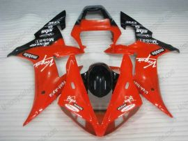 Yamaha YZF-R1 2002-2003 Injection ABS Fairing - Dunlop - Red/Black