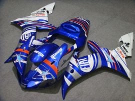 Yamaha YZF-R1 2002-2003 Injection ABS Fairing - FIAT - Blue/White