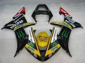 Yamaha YZF-R1 2002-2003 Injection ABS Fairing - Monster - Black/Yellow