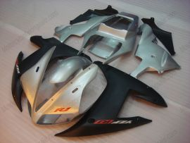 Yamaha YZF-R1 2002-2003 Injection ABS Fairing - Others - Silver/Black