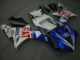 Yamaha YZF-R1 2002-2003 Injection ABS Fairing - FIAT - White/Blue