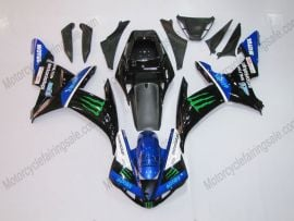 Yamaha YZF-R1 2002-2003 Injection ABS Fairing - Monster - Black/Blue