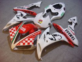 Yamaha YZF-R1 2004-2006 Injection ABS Fairing - ABARTH - White/Red