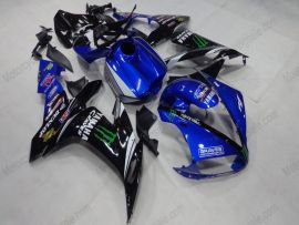Yamaha YZF-R1 2004-2006 Injection ABS Fairing - Monster - Black/Blue