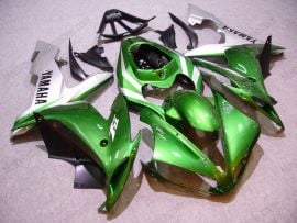 Yamaha YZF-R1 2004-2006 Injection ABS Fairing - Others - Green/Silver