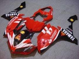 Yamaha YZF-R1 2007-2008 Injection ABS Fairing - Santander - Red/Black/Whiter