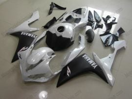 Yamaha YZF-R1 2007-2008 Injection ABS Fairing - Others - White/Black