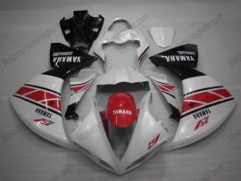 Yamaha YZF-R1 2007-2008 Injection ABS Fairing - Others - White/Red