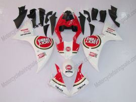 Yamaha YZF-R1 2009-2011 Injection ABS Fairing - Lucky Strike - White/Red