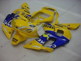 Yamaha YZF-R6 1998-2002 Injection ABS Fairing - Camel - Yellow/Blue