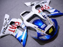 Yamaha YZF-R6 1998-2002 Injection ABS Fairing - FIAT - White/Blue