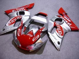 Yamaha YZF-R6 1998-2002 Injection ABS Fairing - Fortuna - Red/Silver