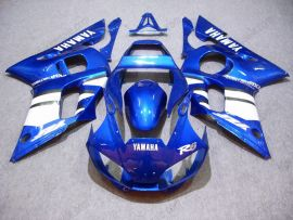 Yamaha YZF-R6 1998-2002 Injection ABS Fairing - Others - Blue/White