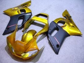 Yamaha YZF-R6 1998-2002 Injection ABS Fairing - Others - Golden/Black