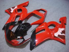 Yamaha YZF-R6 1998-2002 Injection ABS Fairing - Others - Red/Black