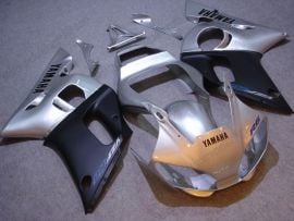 Yamaha YZF-R6 1998-2002 Injection ABS Fairing - Others - Silver/Black