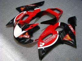 Yamaha YZF-R6 1998-2002 Injection ABS Fairing - Santander - Red/Black