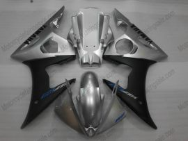 Yamaha YZF-R6 2003-2004 Injection ABS Fairing - Others - Black/Silver